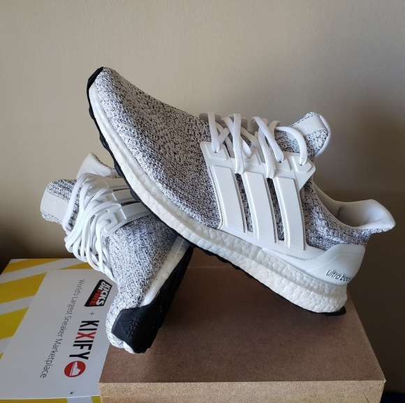 adidas ultra boost 4.0 non dyed white